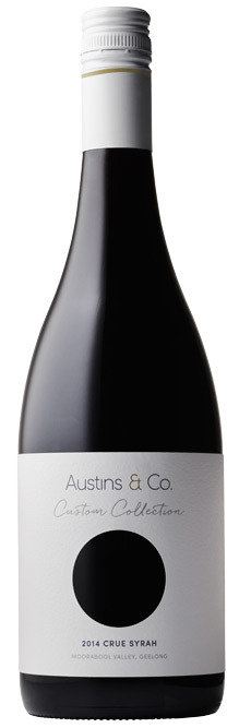 Austins & Co Custom Collection Crue Syrah 2014