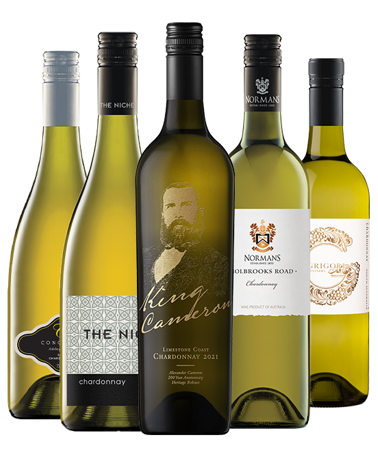 $80 Multi Gold Medal Winning 93 Point Rated Chardonnay Mixed Dozen