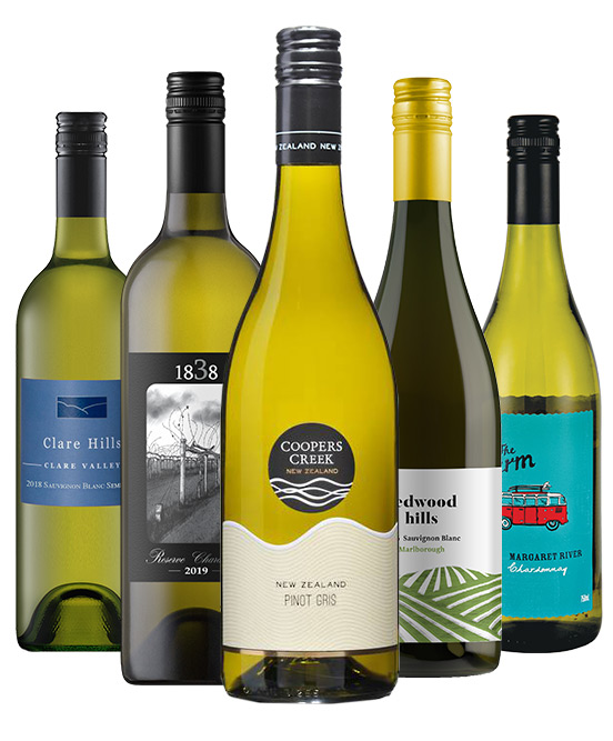Christmas Special Best Sellers White Wine Mixed Dozen
