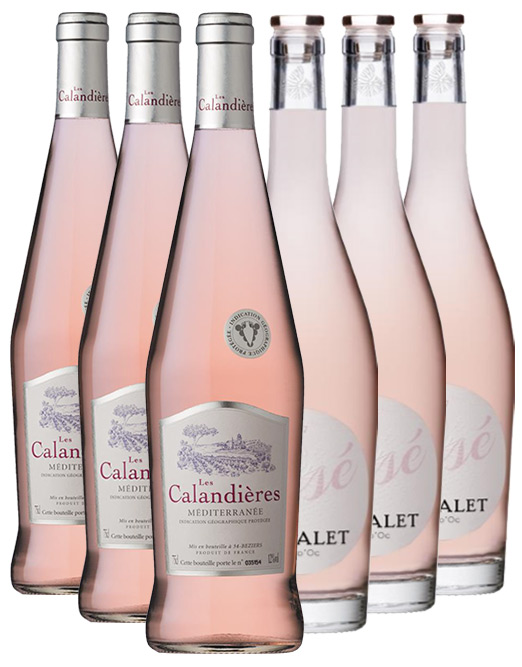 French Rose Mixed Six Pack