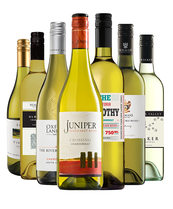 Gold Medal 93 Point Rated Chardonnay Mixed Dozen