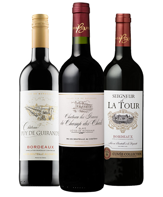 12 Time Gold Medal Winning Legends Of Bordeaux Mixed Dozen
