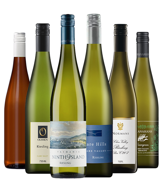 Multi Gold Medal Winning 95 Point Rated Riesling Mixed Dozen