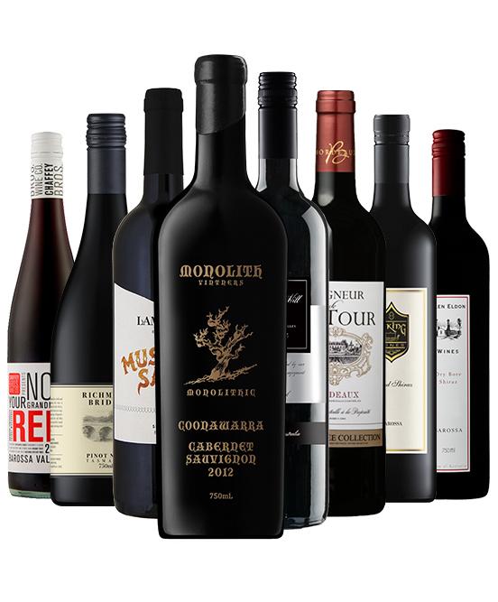 $150 Super Premium Red Wine Mixed Dozen