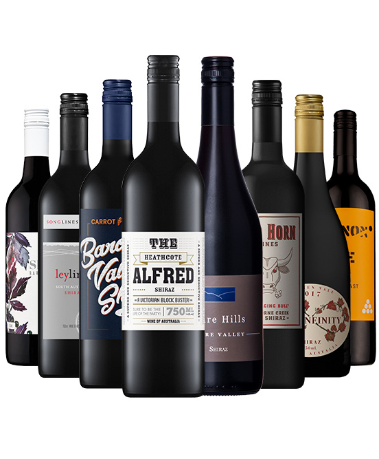 Super Premium Shiraz Mixed Dozen