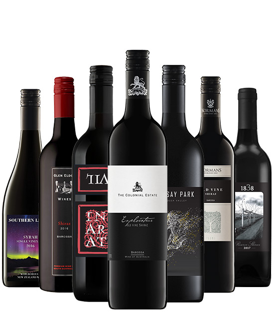 Ultra Premium Shiraz Mixed Dozen