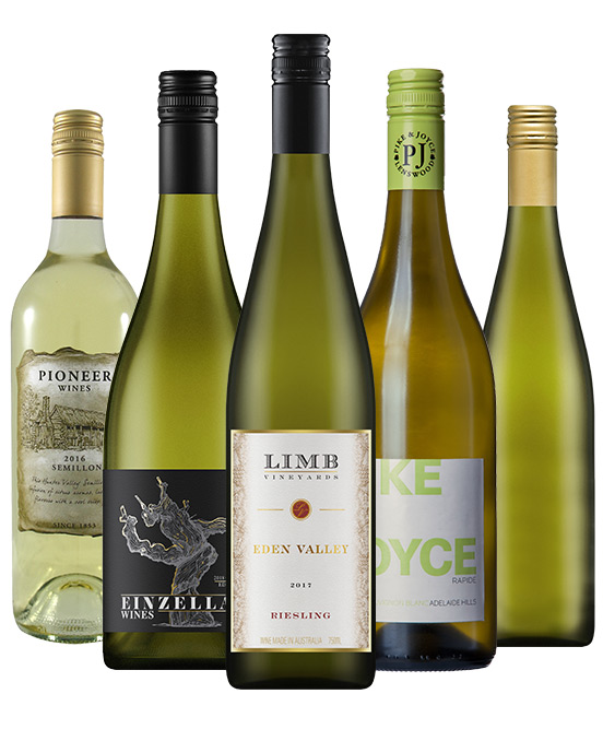 $120 White Wine Mixed Dozen