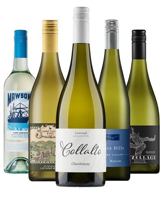 $120 White Wine Mixed Dozen