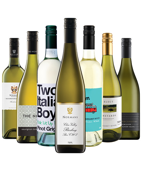 $80 White Wine Mixed Dozen