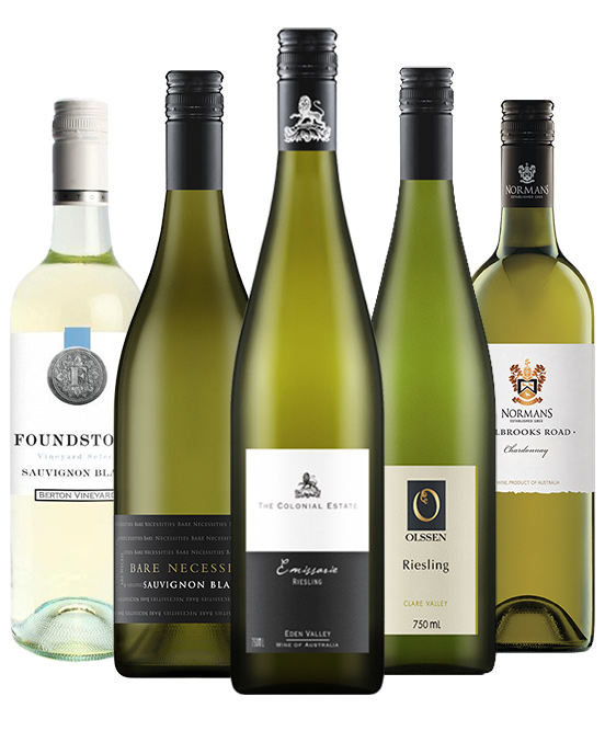 $90 White Wine Mixed Dozen