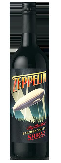 Zeppelin Big Bertha Barossa Valley Shiraz 2016