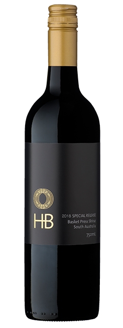 Hazyblur Special Release Basket Press Shiraz 2018