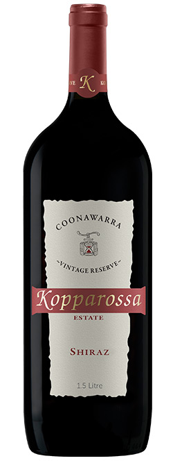 Kopparossa Coonawarra Reserve Shiraz 2014 1.5L Magnum