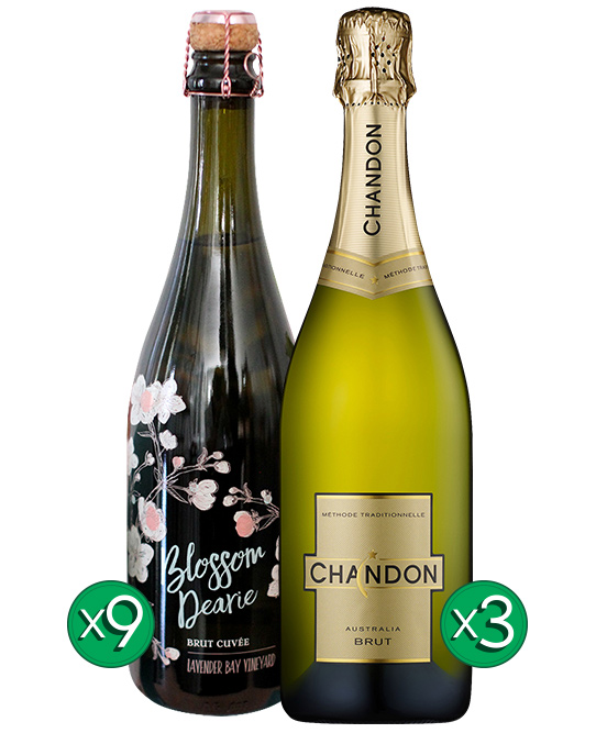Blossom Dearie Sparkling Chardonnay Pinot Noir Chandon Bundle