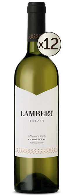 Lambert Estate A Thousand Words Barossa Valley Chardonnay 2016 Dozen