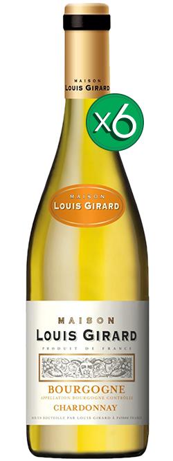 Maison Louis Girard Bourgogne Aoc Chardonnay Blanc 2015 6pack