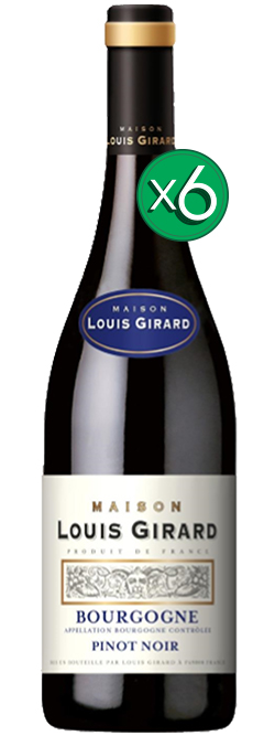 Maison Louis Girard Bourgogne Aoc Pinot Noir 2015 6pack