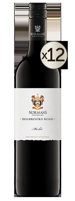 Normans Holbrooks Road Merlot 2019 Dozen