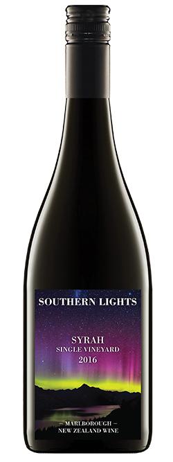 Southern Lights Marlborough Syrah 2016