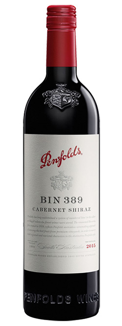 Penfolds Bin 389 South Australia Cabernet Shiraz 2015