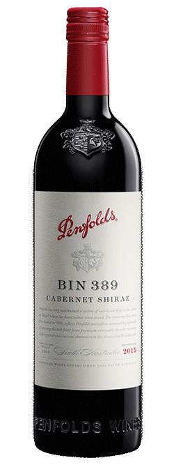 Penfolds Bin 389 South Australia Cabernet Shiraz 2015