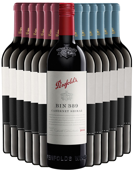 Penfolds 389 Baby Grange Vs Exile Mixed Dozen