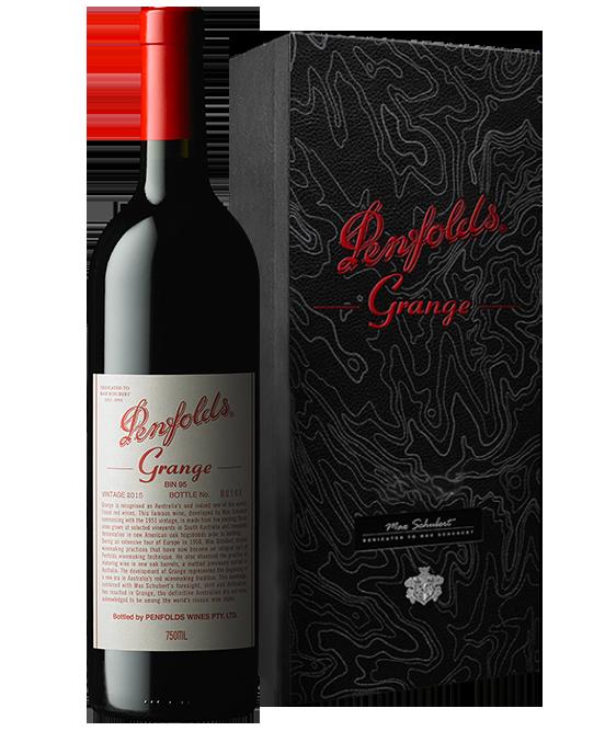 Penfolds Grange 2015 Gift Box