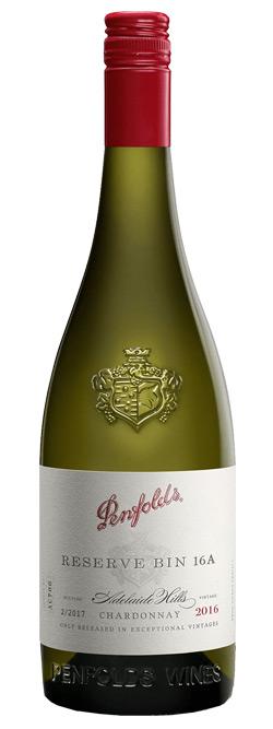 Penfolds Reserve Bin 16A Adelaide Hills Chardonnay 2016