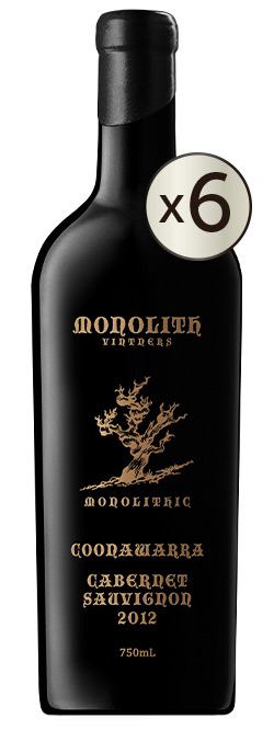 Monolith Vintners Monolithic Old Vine Coonawarra Cabernet Sauvignon 2012 6pack