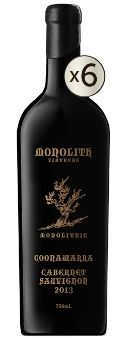 Monolith Vintners Monolithic Old Vine Coonawarra Cabernet Sauvignon 2013 6pack