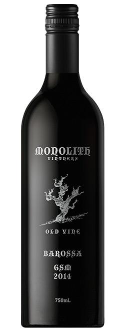 Monolith Vintners Old Vine Barossa Valley Grenache Shiraz Mataro 2014