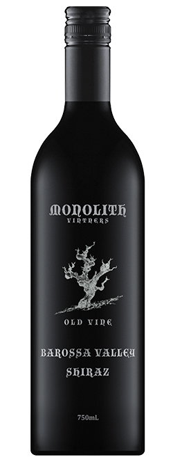 Monolith Vintners Old Vine Barossa Valley Shiraz 2015