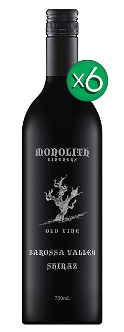 Monolith Vintners Old Vine Barossa Valley Shiraz 2015 6pack