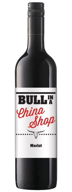 Bull In A China Shop Merlot 2016