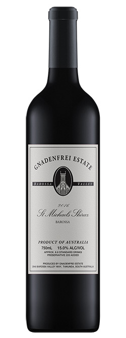 Gnadenfrei Estate St Michaels Barossa Valley Shiraz 2016