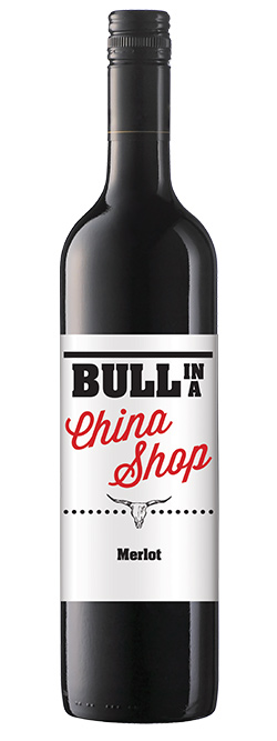 Bull In A China Shop Merlot 2017