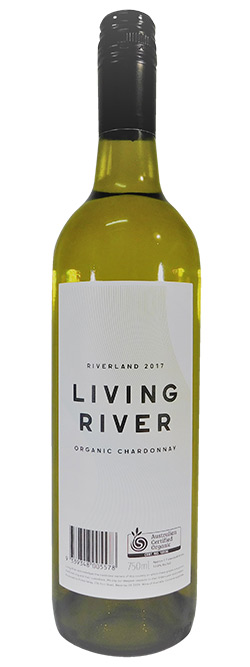 Living River Certified Organic Riverland Chardonnay 2017