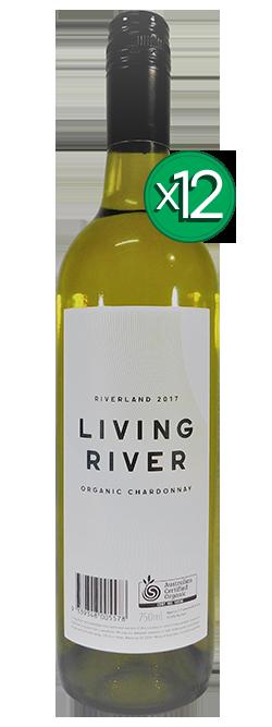 Living River Certified Organic Riverland Chardonnay 2017 Dozen