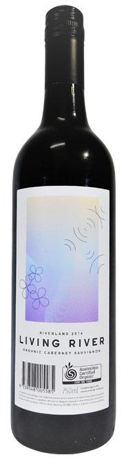 Living River Certified Organic Riverland Cabernet Sauvignon 2016