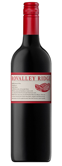 Rovalley Ridge Barossa Valley Shiraz 2017