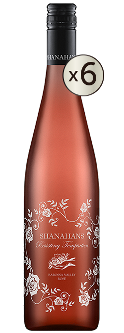 Shanahans Resisting Temptation Barossa Valley Rose 2017 6pack