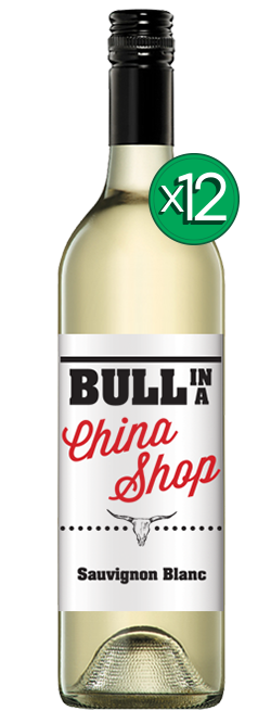Bull In A China Shop Sauvignon Blanc 2018 Dozen