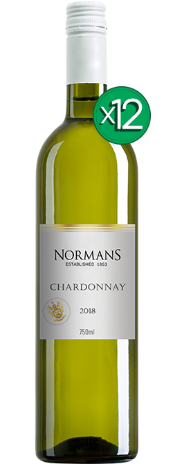Normans White Label Chardonnay 2018 Dozen