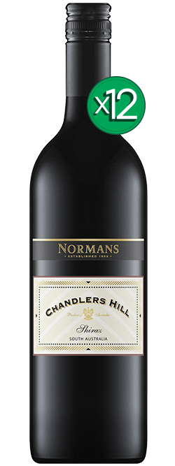 Normans Chandlers Hill Shiraz 2018 Dozen
