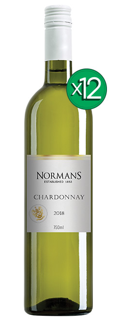 Normans White Label Lean & Green PET Chardonnay 2018 Dozen