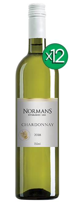 Normans White Label Lean & Green PET Chardonnay 2018 Dozen