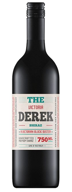 The Derek Victorian Shiraz 2018