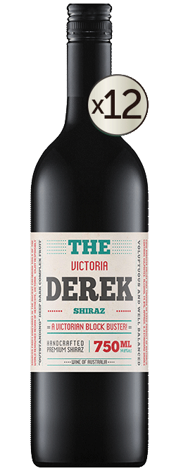 The Derek Victorian Shiraz 2019 Dozen