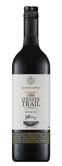 1888 O'Keefe Trail Heathcote Shiraz 2013