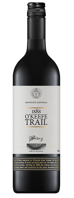 1888 O'Keefe Trail Heathcote Shiraz 2017